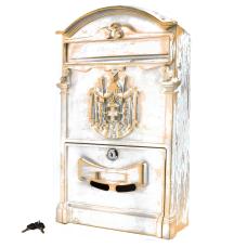 Ящик почтовый №4010В антик белый