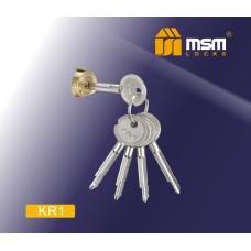 Цилиндровый механизм с крестообразным ключом KR1