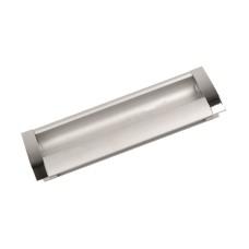 Ручка-купе k033-96 CP/DC (хром/серебро)