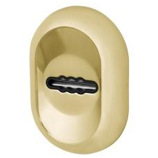 Накладка под Fuaro (Фуаро) сувальдный ключ ESC-13S с автоматическими шторками GP-золото