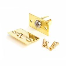 Фиксатор дверной Апекс R-0001 G с/шариком золото (200,20)
