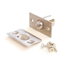 Фиксатор дверной Апекс R-0001 NIS с/шариком никель