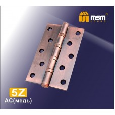 Петля латунная универсальная 125 мм 5Z Медь