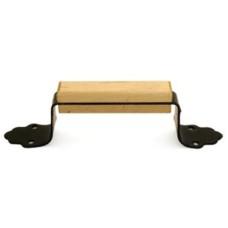 Ручка-скоба РС 100 Пл с деревянными накладками