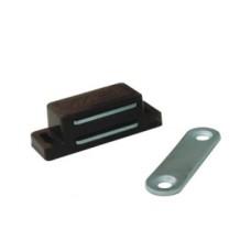 Магнит мебельный L-74 h-15 коричневый SOLLER