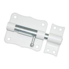 Задвижка накладная ЗТ2-100 полимер белый