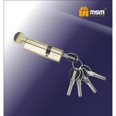 Цилиндровый механизм, латунь Перфорированный ключ-вертушка CW65/35 мм