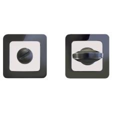 Сантехническая завертка к ручкам АЛЛЮР АРТ BK-S1 BN/CP(41102) черн.никель/хром