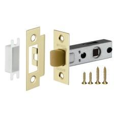 Защелка врезная PLASTIC P12-45-25 SG мат. золото