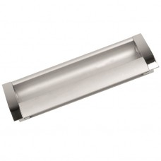 Ручка-купе k033-160 CP/DC (хром/серебро)